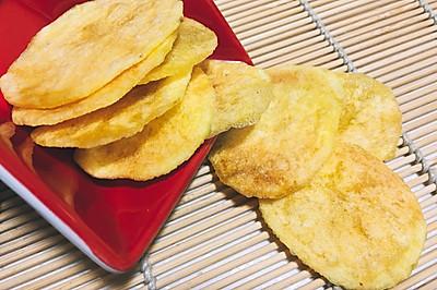 自制微波炉香脆薯片