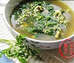 荠菜花汤的做法
