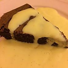 脆皮巧克力蛋糕