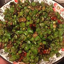 橄榄菜四季豆肉末