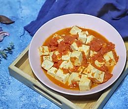 #精品菜谱挑战赛#酸甜可口的番茄豆腐的做法