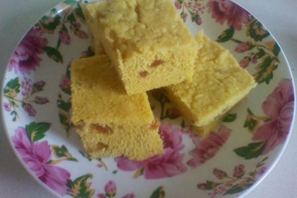 葡萄玉米发糕的做法