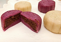 双色水晶饼—紫薯饼&山药饼的做法