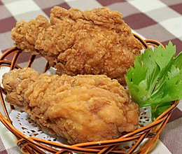 香酥吮指炸鸡腿的做法