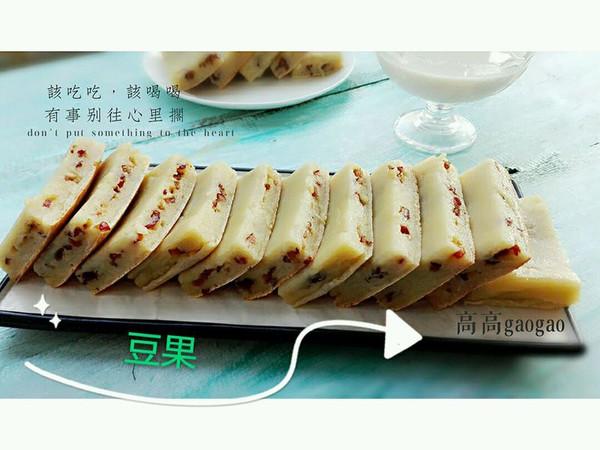 烤红枣糯米糕的做法