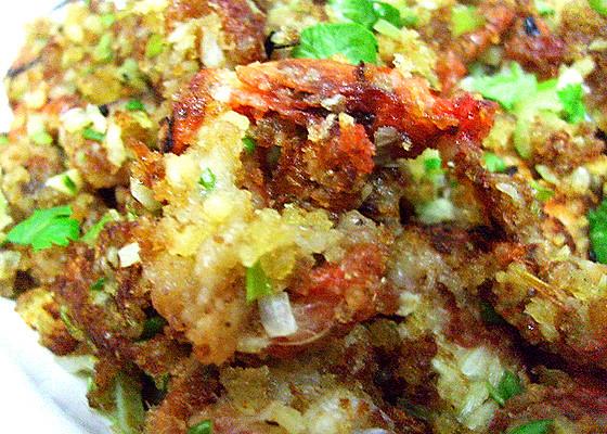 单身菜谱 避风塘风味 爆炒软壳蟹【虾】的做法