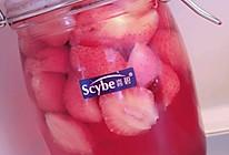自制草莓罐头+草莓果冻的做法