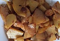 土豆片回锅肉的做法