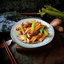香菇芹菜炒香干