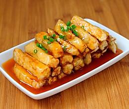 糖醋脆皮茄子 色泽金黄酸甜可口受欢迎 简单家常做法步骤超详细的做法