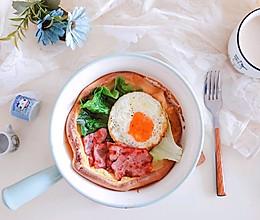 荷兰宝贝松饼(咸口)#快手又营养,我家的冬日必备菜品#的做法