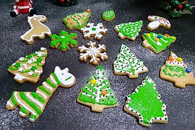 多款圣诞树饼干