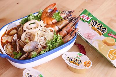 海鲜捞汁面#硬核家常菜#