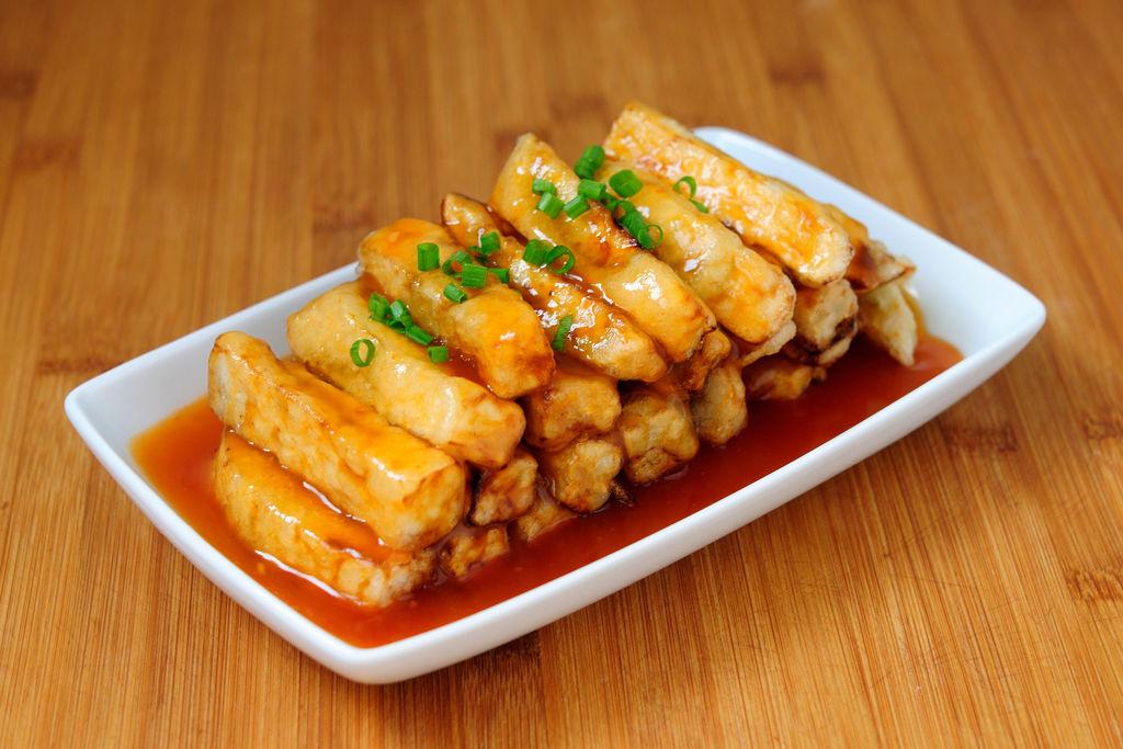 京酱面_糖醋脆皮茄子怎么做_糖醋脆皮茄子的做法_千寻树_豆果美食