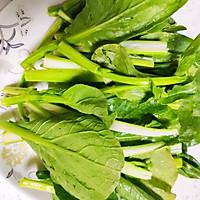 白灼菜心(万能白灼方法)正宗粤菜口味的做法图解2