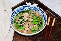 芥兰炒猪肉的做法