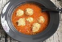 番茄香菇鸡肉丸的做法