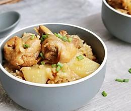 #快手又营养,我家的冬日必备菜品#土豆鸡腿焖饭的做法