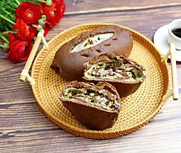#新春美味菜肴#可可麻薯软欧的做法