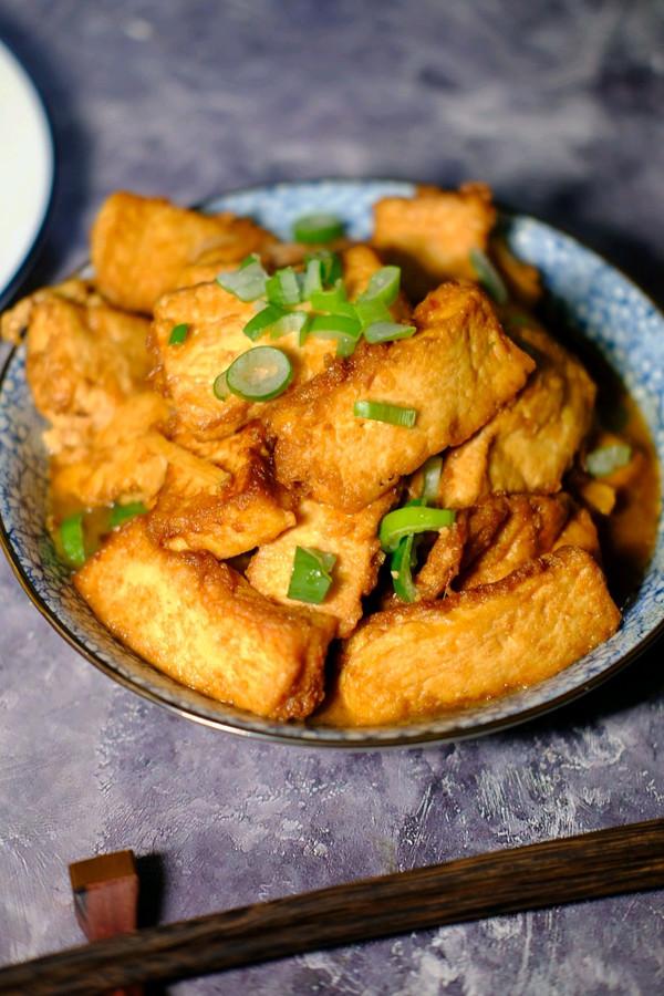 独家|家常烩豆腐,味浓拌饭真好吃吃的做法
