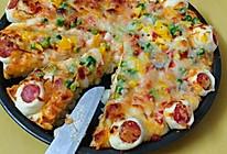 台湾香肠披萨的做法