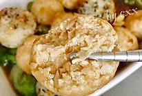 鸡肉藕茸丸的做法