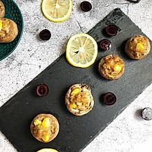#美味烤箱菜,就等你来做!#柠香口蘑酿肉