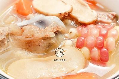 松茸筒骨汤 牛佤松茸食谱