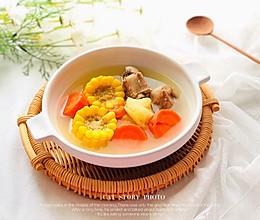 红萝卜玉米土豆猪骨汤的做法