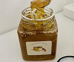 一年只有几十天的桂花蜂蜜柚子茶的做法