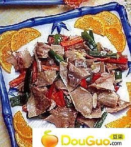 辣椒炒肚片的做法