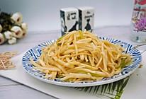 #父亲节,给老爸做道菜#清炒茭白丝的做法