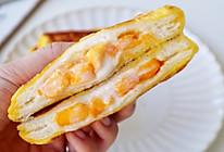 #入秋滋补正当时#营养快手早餐芒果酸奶吐司的做法