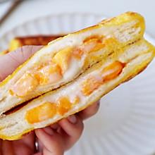 #入秋滋补正当时#营养快手早餐芒果酸奶吐司