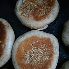 爱心电饼铛烤烧饼