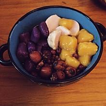 自制鲜芋仙芋圆