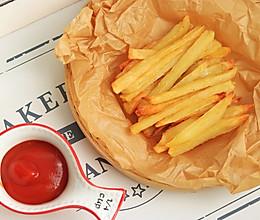 #夏日撩人滋味#低脂烤薯条的做法