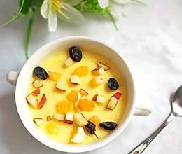 宝宝的零食:简单超级营养的水果布丁的做法