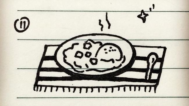 手绘食谱-咖喱饭的做法