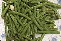 清炒长缸豆的做法