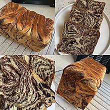 大理石纹面包「巧克力吐司」