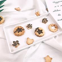 巧克力夹心饼干-好吃!酥酥的饼干配方