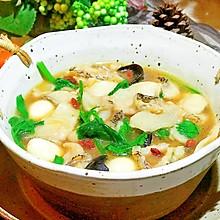 #精品菜谱挑战赛#杂菇鱼片酱汤