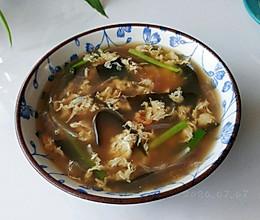 葱葱豉蛋海带汤的做法