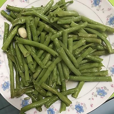 清炒长缸豆