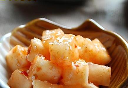 消脂减肥吃法:凉拌芝香酸辣萝卜的做法