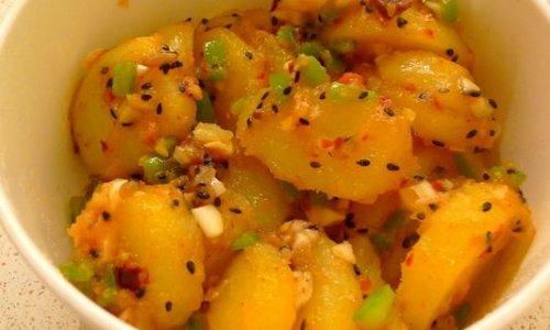 简单版葱香土豆的做法