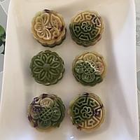 纯天然蔓越莓绿豆糕的做法图解3