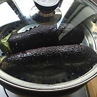 #一人一道拿手菜#清蒸茄子的做法图解3