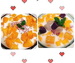 夏日解暑甜品—芒果西米露